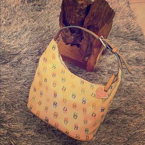 💕Dooney and Bourke vintage mini hobo bag